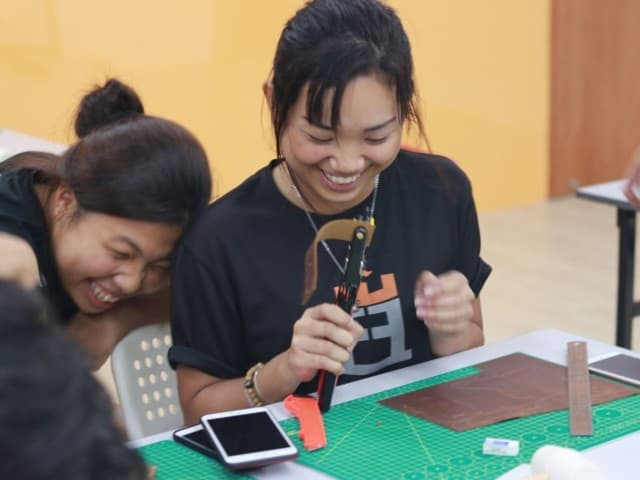 Private Leather Workshop - Leather Workshop Singapore